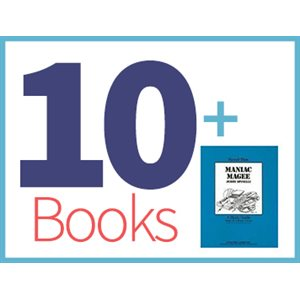 Maniac Magee Group Set (10 books, 1 Novel-Tie)