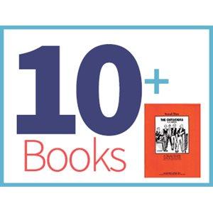 The Outsiders Group Set (10 books, 1 Novel-Tie)