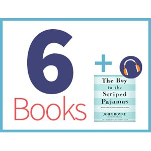 Boy in the Striped Pajamas Listening Set (6 books, 1 CD) (BMI)
