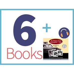 Watsons Go to Birmingham Listening Set (6 books, 1 CD) (BMI)