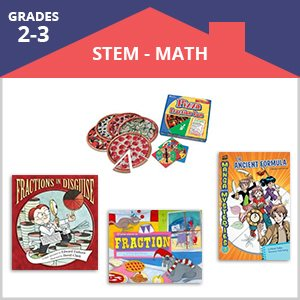 Distance Learning Perfect Pairings - Fractions (Grades 2-3)