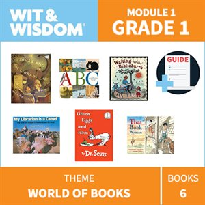 Wit & Wisdom Module 1 Books--Grade 1
