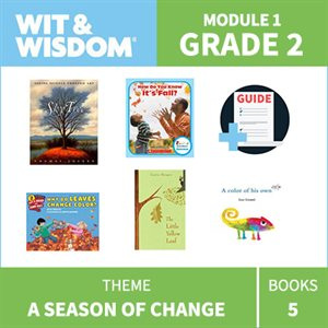 Wit & Wisdom Module 1 Books--Grade 2