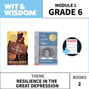 Wit & Wisdom Module 1 Books--Grade 6