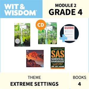 Wit & Wisdom Module 2 Books--Grade 4