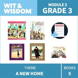 Wit & Wisdom Module 3 Books--Grade 3