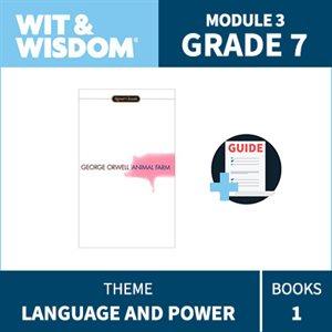Wit & Wisdom Module 3 Books--Grade 7