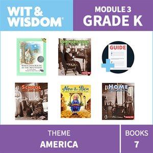 Wit & Wisdom Module 3 Books--Kindergarten