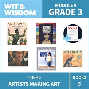 Wit & Wisdom Module 4 Books--Grade 3