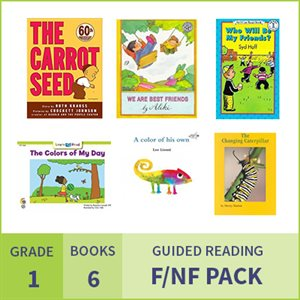 At Home Learning GR Fiction / Nonfiction Pack: Grade 1 (6 Books)
