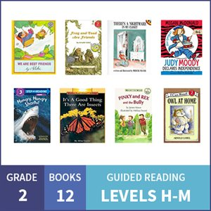 At Home Learning GR Multilevel Pack: Grade 2 (12 Books)