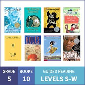 At Home Learning GR Multilevel Pack: Grade 5 (10 Books)