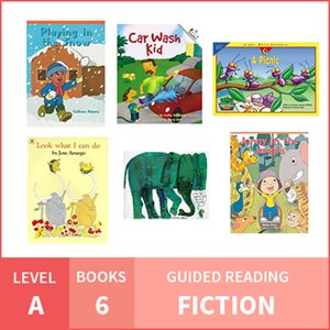 At Home Learning GR Pack: Level A Fiction (6 Books)