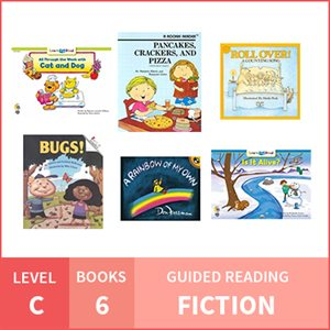 At Home Learning GR Pack: Level C Fiction (6 Books)