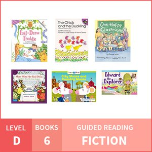 At Home Learning GR Pack: Level D Fiction (6 Books)
