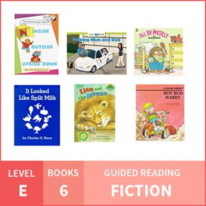At Home Learning GR Pack: Level E Fiction (6 Books)