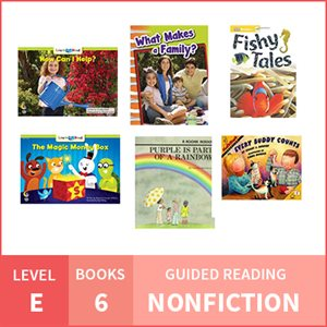 At Home Learning GR Pack: Level E Nonfiction (6 Books)