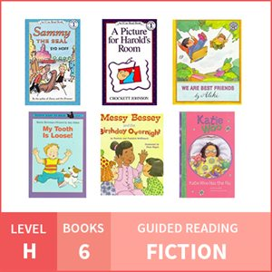 At Home Learning GR Pack: Level H Fiction (6 Books)