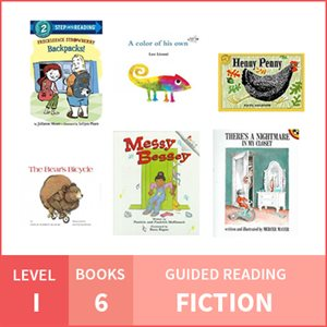 At Home Learning GR Pack: Level I Fiction (6 Books)