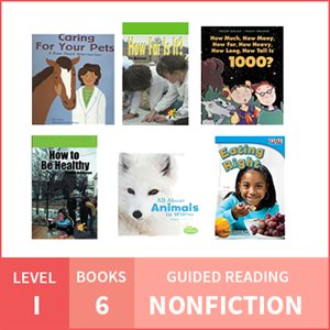 At Home Learning GR Pack: Level I Nonfiction (6 Books)