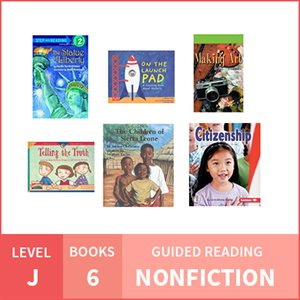 At Home Learning GR Pack: Level J Nonfiction (6 Books)