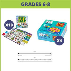 Financial Literacy: Real World Math Skills (15 learning games)