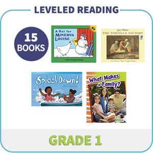 Grade 1 Leveled Readers - Targeted Levels  (15 Books)