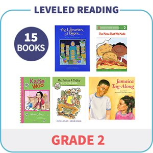 Grade 2 Leveled Readers - Targeted Levels  (15 Books)