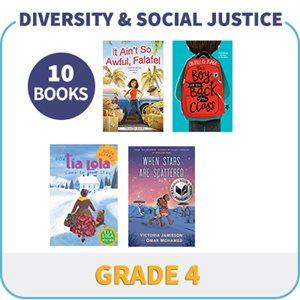 Grade 4 Diversity, Social Justice & Inclusion (10 Books)