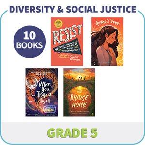 Grade 5 Diversity, Social Justice & Inclusion (10 Books)