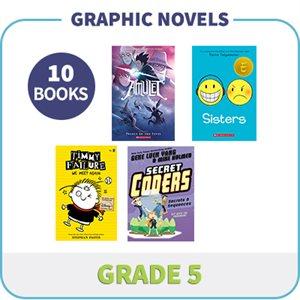 Grade 5 Graphic Novels (10 Books)