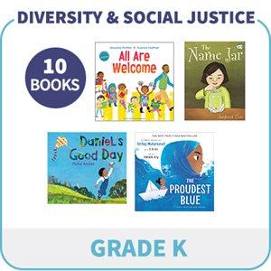 Kindergarten Diversity, Social Justice & Inclusion (10 Books)