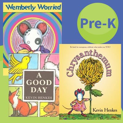 Picture Books: Kevin Henkes (4 Books)