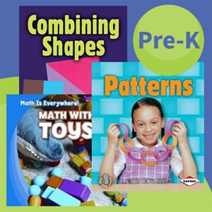 Picture Books: First Step Nonfiction - Early Math (6 Books)