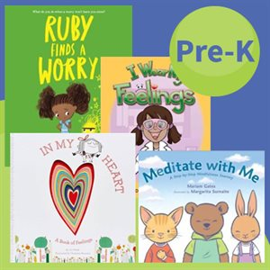 SEL Picture Books: Self-Management and Self-Awareness (9 Books)
