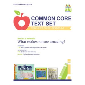 Common Core Text Set Teacher Guide: Nature's Wonders