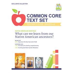 Common Core Text Set Teacher Guide: Native American Heritage