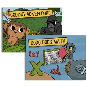 Coding Adventure & DodoDoes Math Set (30 Students)