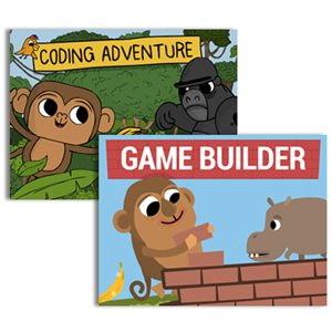 Coding Adventure & Game Builder Set