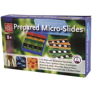12pc. Prepared Slides w /  6 blanks