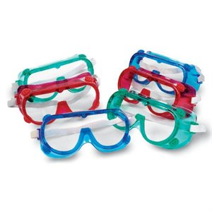 Color Safety Goggles, Set Of 6