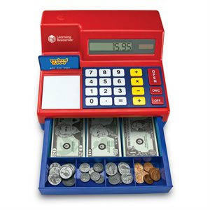 Pretend & Play® Calculator Cash Register