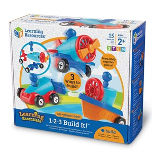 1-2-3 Build It!™ Car-Plane-Boat