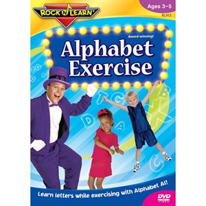 Alphabet Exercise Rock and Learn DVD