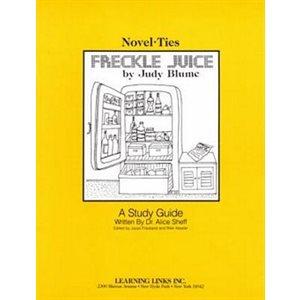 Freckle Juice Novel Tie Study Guide
