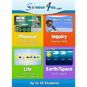 Science4Us Subscriptions-Classroom - Up to 30 Students