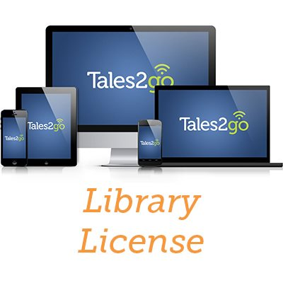 Tales2go-Subscription Audiobooks Library License for K12 schools (10 lic. + 25 lendable lic.)