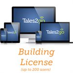 Tales2go-Subscription Audiobooks Building License for K12 schools (up to 200 licenses)