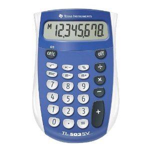 Texas Instruments Handheld Calculator Pocket Size