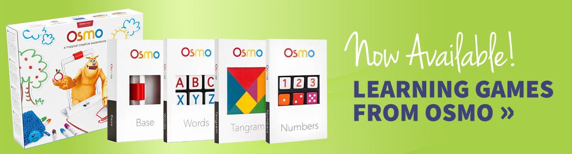 OSMO Learning Games are now available at AKJ Education